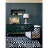 Florence Broadhurst Turnabouts Black 039205 Designer Wool Rug - Rugs Of Beauty - 3