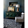 Florence Broadhurst Turnabouts Black 039205 Designer Wool Rug - Rugs Of Beauty - 2