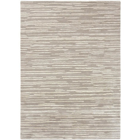 Florence Broadhurst Slub Mist 039401 Designer Wool Viscose Rug - Rugs of Beauty - 1