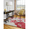 Florence Broadhurst Floral 300 Poppy 039600 Designer Wool Viscose Rug - Rugs Of Beauty - 2