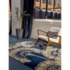 Florence Broadhurst Japanese Floral Midnight 039708 Designer Wool Rug - Rugs Of Beauty - 5
