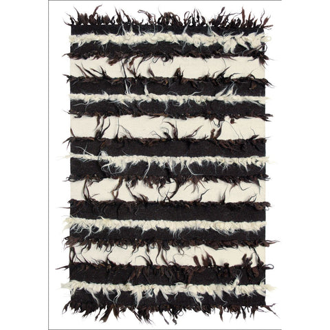 Brink & Campman Flock 79305 Designer Wool Rug - Rugs Of Beauty