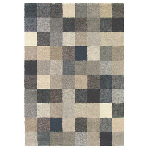 Brink & Campman Fusion Patch 56901 Designer Wool Rug - Rugs Of Beauty - 1