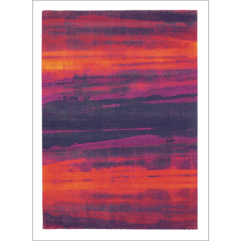 Harlequin Amazilia Loganberry 41600 Modern Designer Wool Rug - Rugs Of Beauty