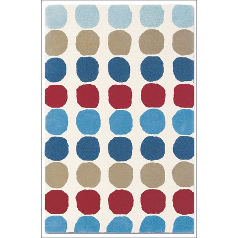 Harlequin Abacus Primary 42108 Modern Designer Kids Wool Rug - Rugs Of Beauty