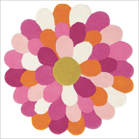 Harlequin Funky Flower 42702 Modern Designer Kids Rug - Rugs Of Beauty