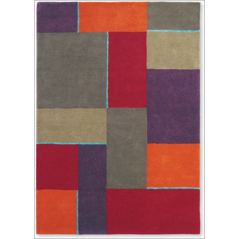 Harlequin Iona Moroccan 43300 Modern Designer Abstract Wool Rug - Rugs Of Beauty