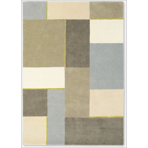 Harlequin Iona Hessian 43301 Modern Designer Abstract Wool Rug - Rugs Of Beauty