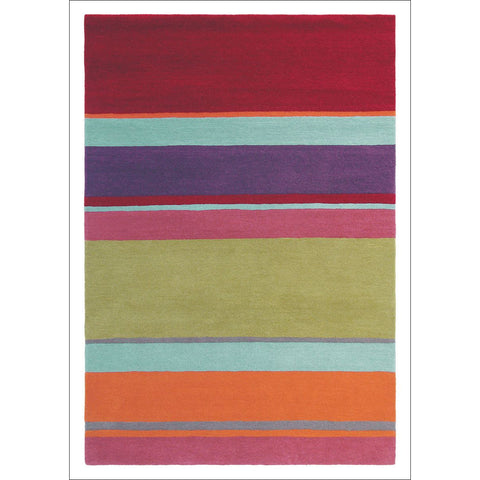 Harlequin Bella Multi 43600 Modern Designer Abstract Wool Rug - Rugs Of Beauty