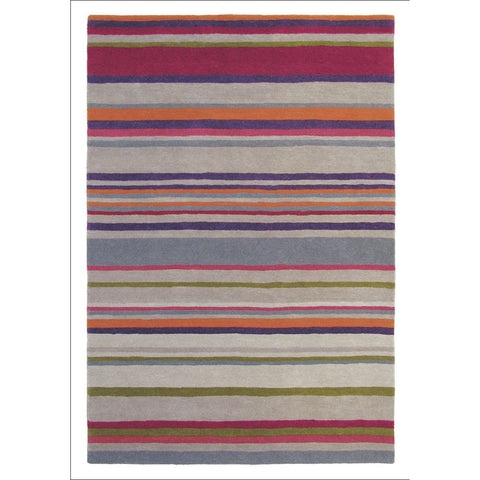 Harlequin Barcode Amber 43700 Modern Designer Striped Wool Rug - Rugs Of Beauty