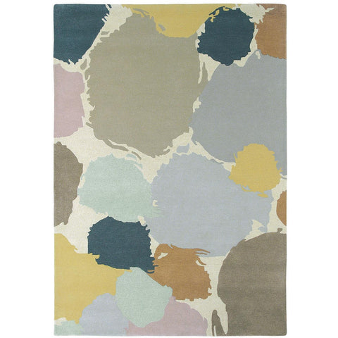 Harlequin Paletto Shore 44204 Designer Modern Wool Rug - Rugs Of Beauty