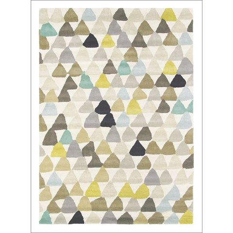 Harlequin Lulu Pebble 44601 Modern Designer Abstract Wool Rug - Rugs Of Beauty