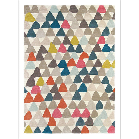 Harlequin Lulu Saffron 44603 Modern Designer Abstract Wool Rug - Rugs Of Beauty