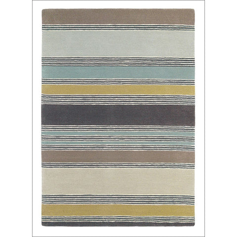 Harlequin Affinity Gooseberry 44701 Modern Designer Striped Pure Wool Rug - Rugs Of Beauty