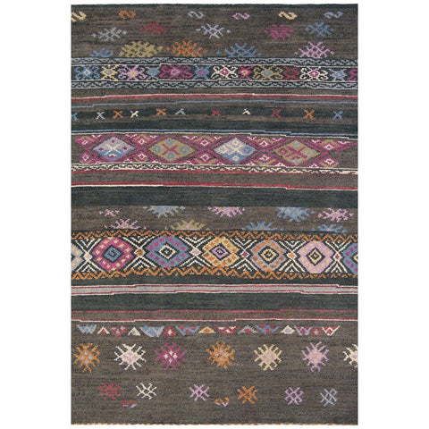 Brink & Campman Himali Ruby Luxury Hand Knotted Designer Wool Rug - Rugs Of Beauty