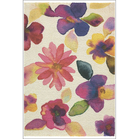 Brink & Campman Icon Shimi 19902 Contemporary Floral Wool Rug - Rugs Of Beauty