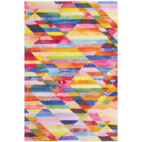 Brink & Campman Kaleidoscope Delta Designer Wool Area Rug - Rugs Of Beauty