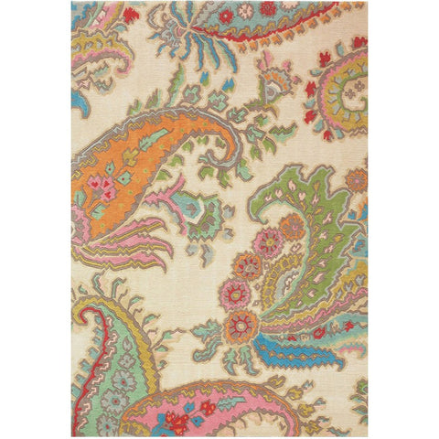 Brink and Campman Kodari Paisley 32601 Hand Knotted Designer Wool Rug - Rugs Of Beauty