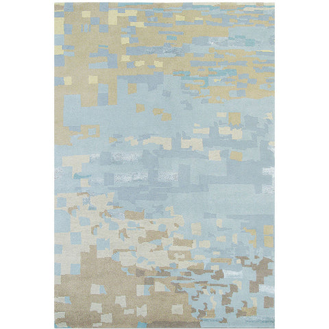 Brink and Campman Kodari Mist 34218 Modern Wool Designer Area Rug - Rugs Of Beauty