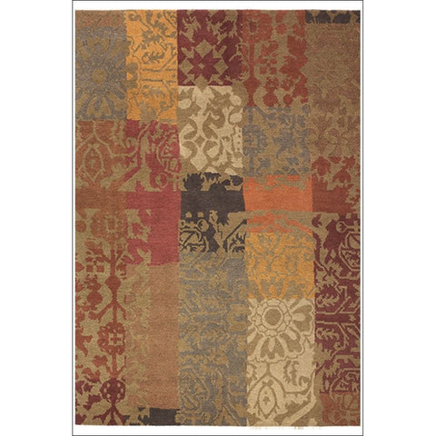 Brink & Campman Kodari Patchwork 94003 Hand Knotted Designer Wool Rug - Rugs Of Beauty
