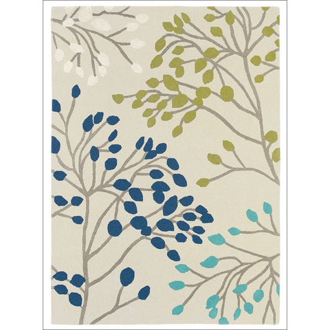 Sanderson Home Pippin Teal Linden 23808 Designer Rug - Rugs Of Beauty - 1