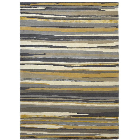 Sanderson Elsdon Linden 44006 Designer Wool / Viscose Rug - Rugs Of Beauty - 1