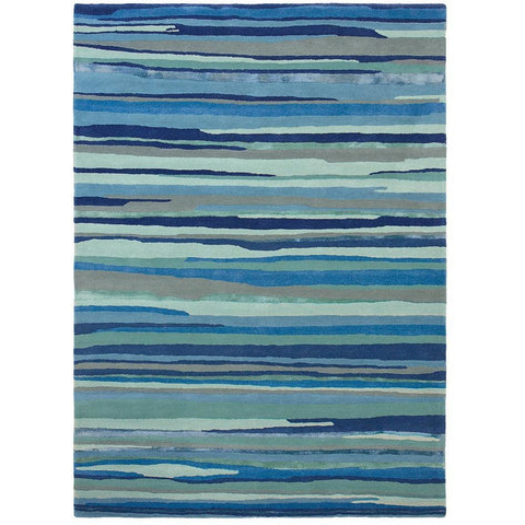 Sanderson Elsdon Miner 44008 Designer Wool / Viscose Rug - Rugs Of Beauty - 1