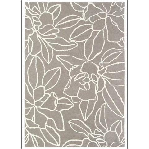 Sanderson Magnolia Linen 46004 Designer Wool / Viscose Rug - Rugs Of Beauty - 1