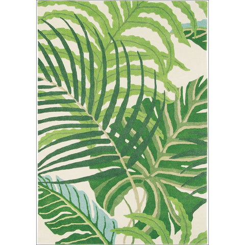 Sanderson Manila Green 46407 Designer Rug - Rugs Of Beauty - 1