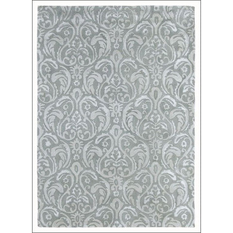 Sanderson Giulietta Dove 46608 Designer Wool / Viscose Rug - Rugs Of Beauty - 1