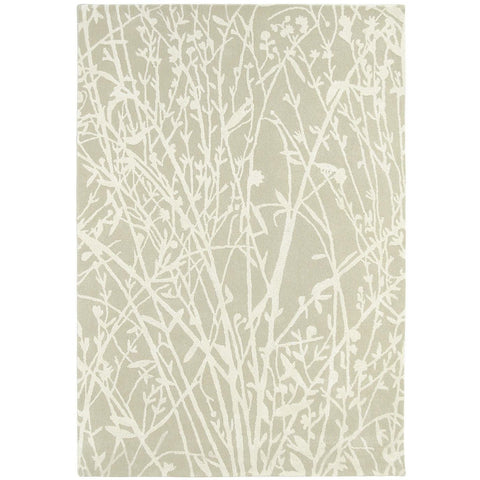 Sanderson Meadow Linen 46809 Designer Wool / Viscose Rug - Rugs Of Beauty - 1