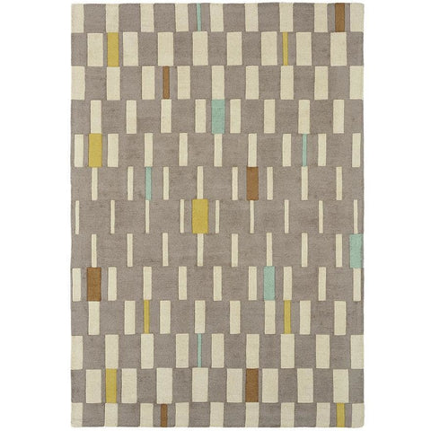Scion Blok Dandelion 24101 Modern Designer Wool Rug - Rugs Of Beauty - 1