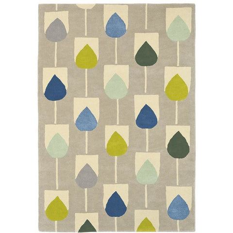 Scion Sula Pacific 24307 Modern Designer Wool Rug - Rugs Of Beauty - 1
