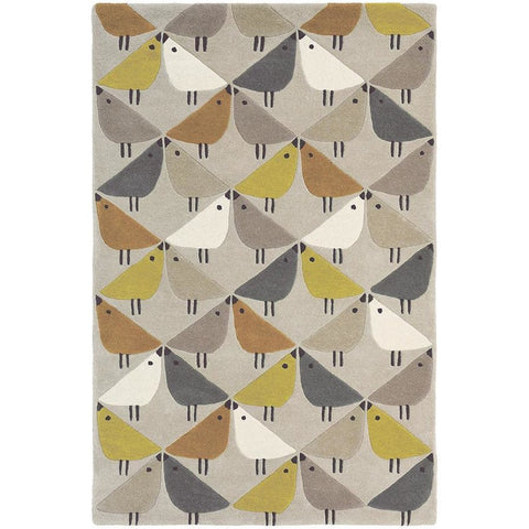 Scion Lintu Dandelion 24405 Modern Designer Wool Rug - Rugs Of Beauty - 1