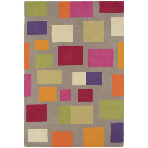 Scion Blocks Tutti Fruitti Designer Wool Rug - Rugs Of Beauty