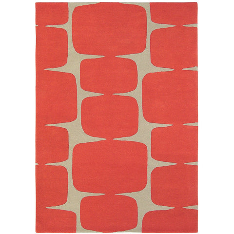 Scion Lohko Poppy - Rugs Of Beauty