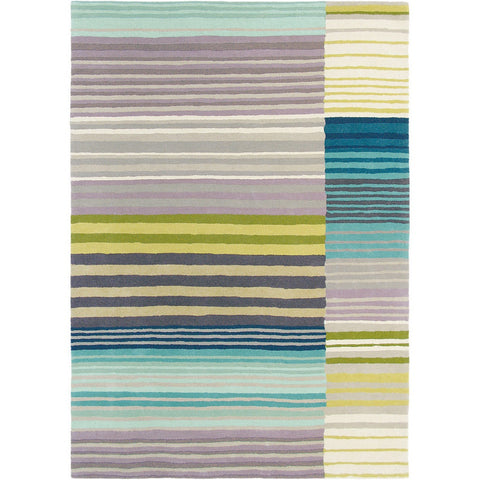 Scion Medini Lagoon 25908 Modern Designer Wool Rug - Rugs Of Beauty - 1