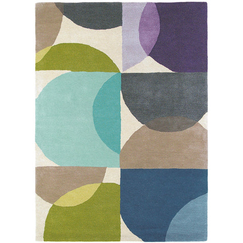 Scion Kaleido Marine 26008 Modern Designer Wool Rug - Rugs Of Beauty