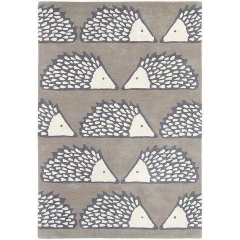 Scion Spike Pumice 26804 Modern Designer Wool Rug - Rugs Of Beauty - 1