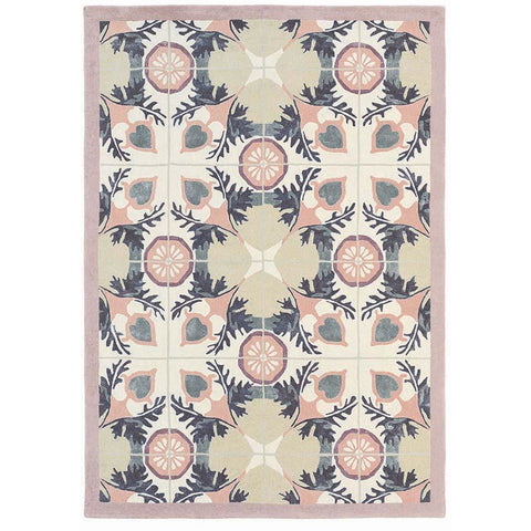 Ted Baker Violet and Light Green 57301 Modern Designer Rug - Rugs Of Beauty - 1
