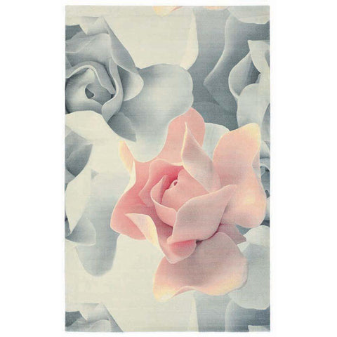 Ted Baker Porcelain Rose 57402 Modern Designer Rug - Rugs Of Beauty - 1