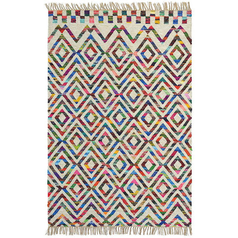 Brink & Campman Tika Casablanca 79601 Flatweave Wool & Cotton Rug - Rugs Of Beauty