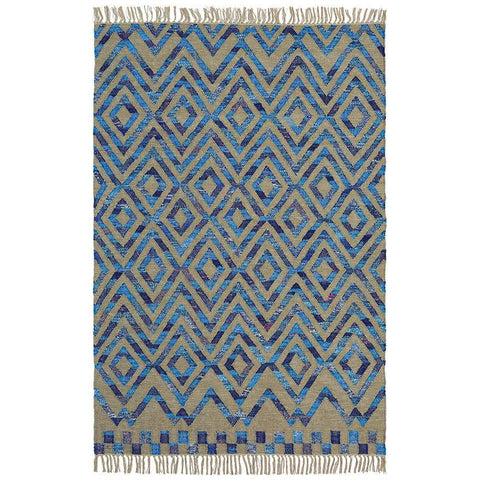 Brink & Campman Tika Casablanca 79608 Flatweave Wool & Cotton Rug - Rugs Of Beauty