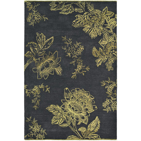 Wedgwood Tonquin Charcoal Designer Rug - Rugs Of Beauty - 1