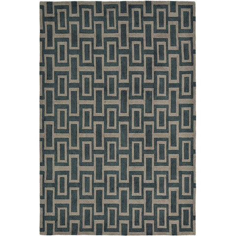 Wedgwood Itaglio Black Designer Rug - Rugs Of Beauty - 1