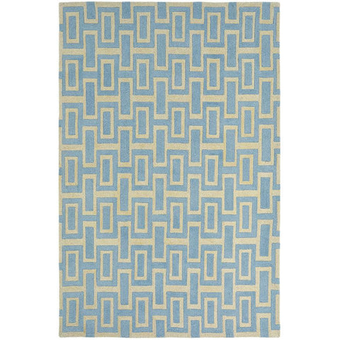 Wedgwood Itaglio Blue Designer Rug - Rugs Of Beauty - 1