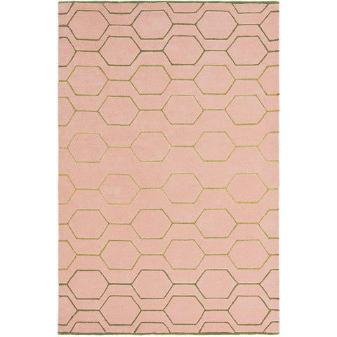 Wedgwood Arris Pink Designer Rug - Rugs Of Beauty - 1