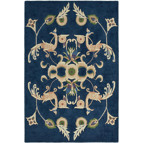 Wedgwood Persia Navy Designer Rug - Rugs Of Beauty - 1