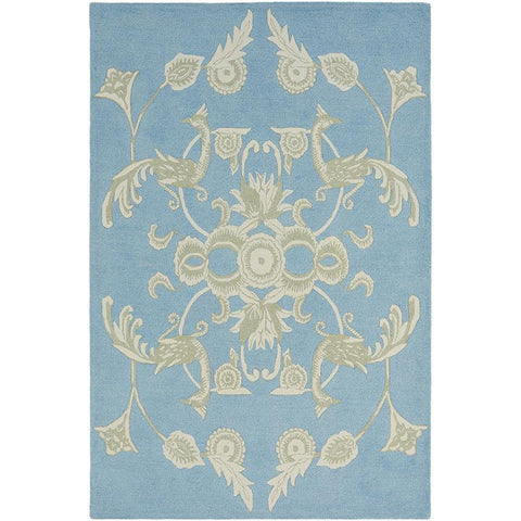 Wedgwood Persia Blue Designer Rug - Rugs Of Beauty - 1