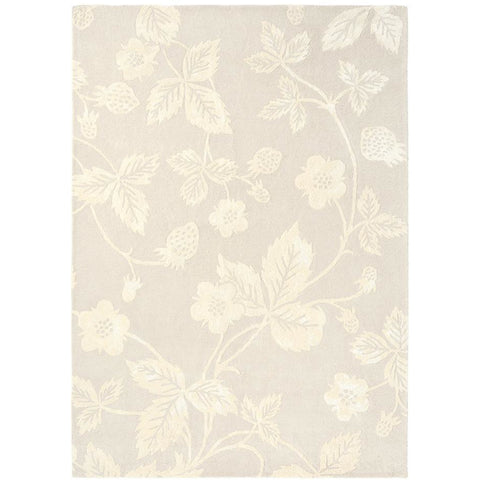 Wedgwood Wild Strawberry Tonal 38201 Wool Viscose Designer Rug - Rugs Of Beauty - 1